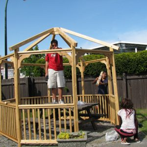 My Gazebo is the Perfect NO Maintenance Solution for a Small Backyard