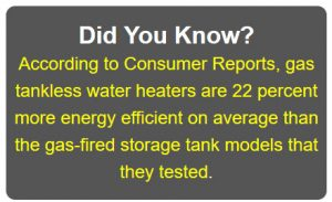 tanless water heaters Consumer Reports