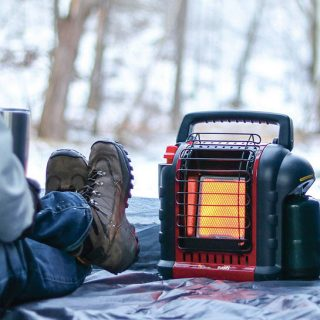 types of propane heaters